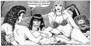 Anarquismo Sin Tonterías, Conan y las muchachas