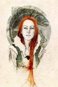 Catelyn_Tully_by_Elia_Fernandez