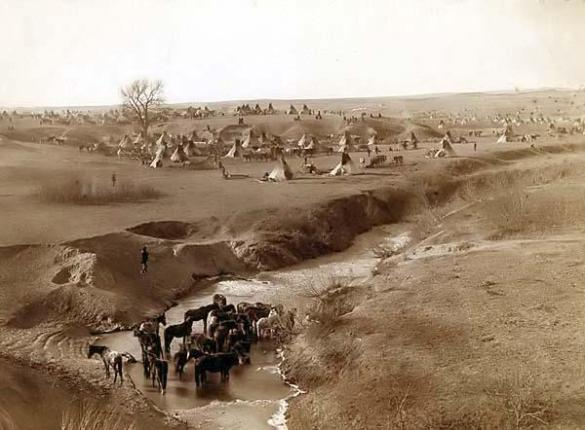 Lakota-Village-Indian